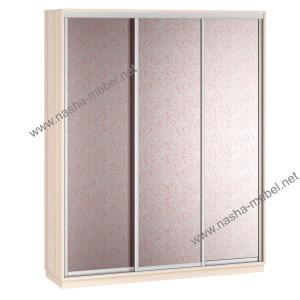Liverpul 3-180 steklo dub rozi