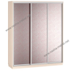 Liverpul 3-210 steklo dub rozi