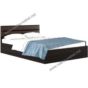Кровать Виктория-М 1400 венге