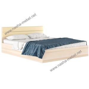 Кровать Виктория-М 1600 дуб