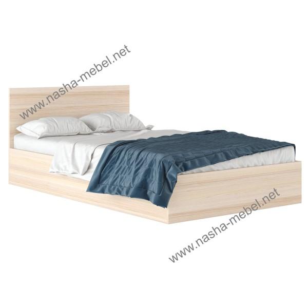 Кровать Виктория 120 дуб