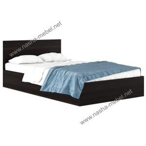 Кровать Виктория 120 венге
