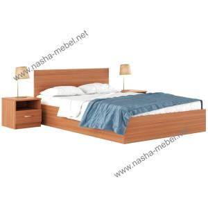 Кровать Виктория с тумбами вишня