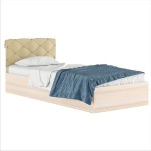 Кровать Виктория с подушкой 900 дуб