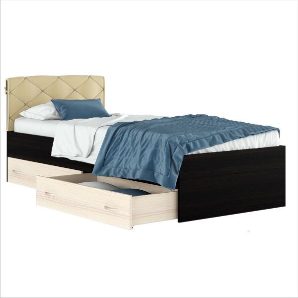 Кровать Виктория комби 900 с подушкой