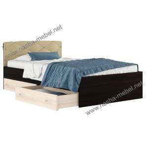 Кровать Виктория-П 1200 _с ящиками
