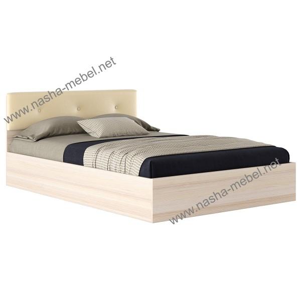 Кровать Виктория ЭКО-П 1400 дуб