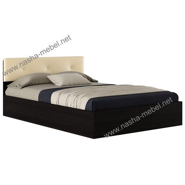 Кровать Виктория ЭКО-П 1400 венге