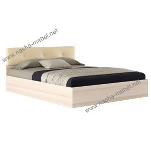 Кровать Виктория ЭКО-П 1600 дуб