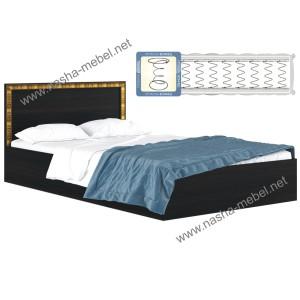 Кровать Виктория-Б 120 венге с матрасом