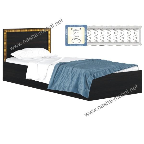 Кровать Виктория-Б венге с матрасом
