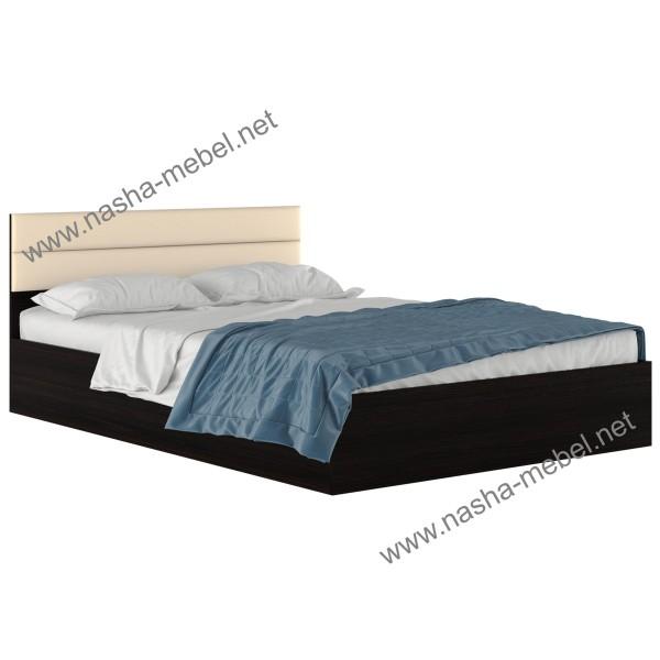 Кровать Виктория-МБ 1400 венге