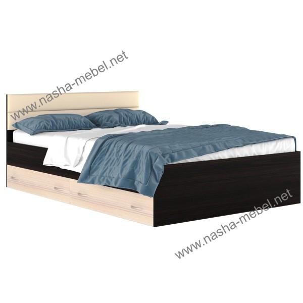 Кровать Виктория-МВ 1400 с ящиками