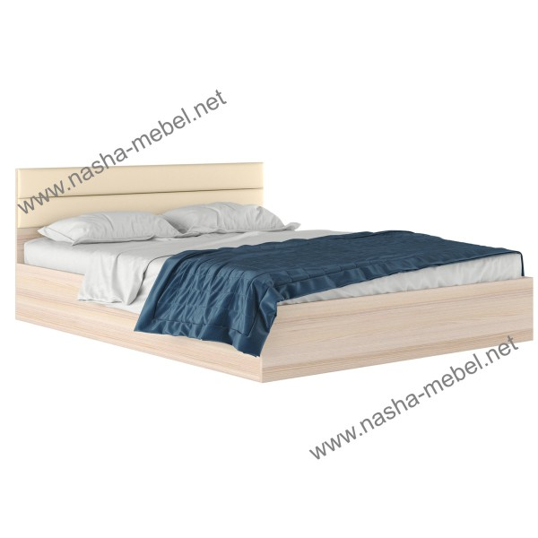 Кровать Виктория-МВ 1600 дуб