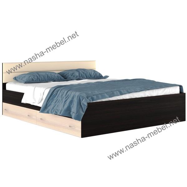Кровать Виктория-МВ 1800 с ящиками
